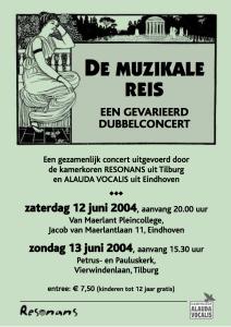 '04 concert Reizen 12-6-04