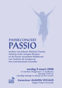 '08 concert Passio:H.H.kerk 9-3-08