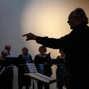 Jan Maas en Allegrezza, Kruisruimte, 19 okt 2019. Foto: Jan Visser